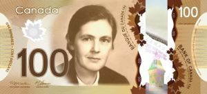 Dr. Kelsey is one of a very select group of people honored with their image on currency (Courtesy of womenonbanknotes.ca)
